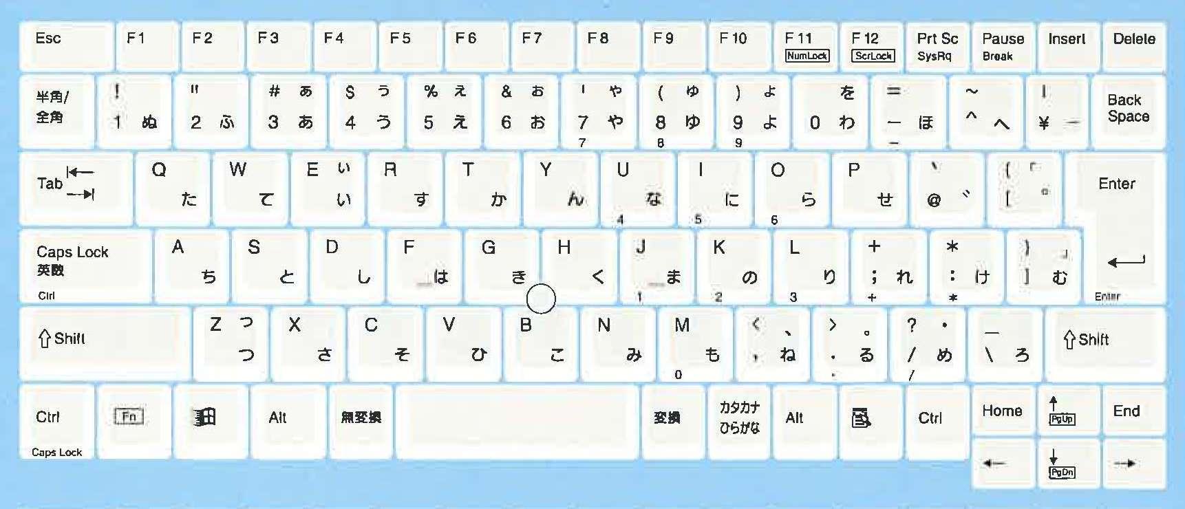 省スペース/小型キーボード NT-KB089JPN